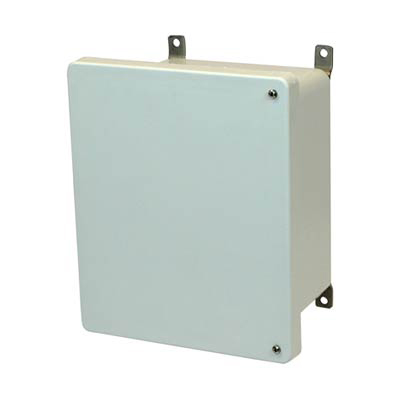 Allied Moulded AM1084H Fiberglass Enclosure