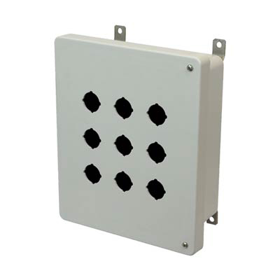 Allied Moulded AM1084HP9 Fiberglass Enclosure