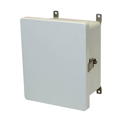 Allied Moulded AM1084L Fiberglass Enclosure