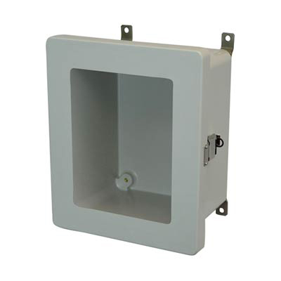 Allied Moulded AM1084LW Fiberglass Enclosure