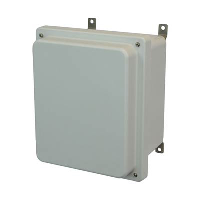 Allied Moulded AM1084R Fiberglass Enclosure