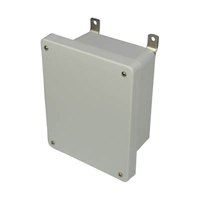 Allied Moulded AM864 Fiberglass Enclosure