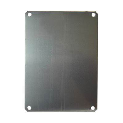 Allied Moulded PLA108 Aluminum Back Panel