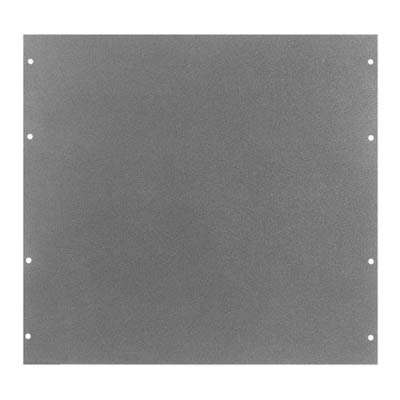 Bud PA-1110-MG Aluminum Back Panel