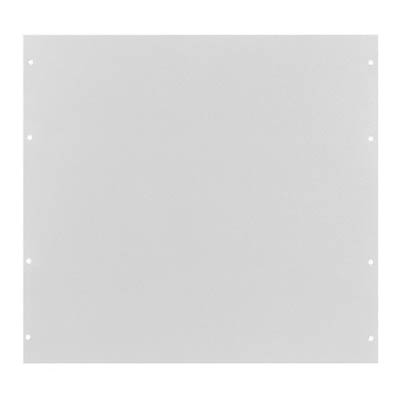 Bud PA-1110-WH Aluminum Back Panel