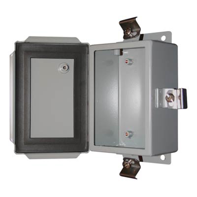 Bud SN-3704 Metal Enclosure
