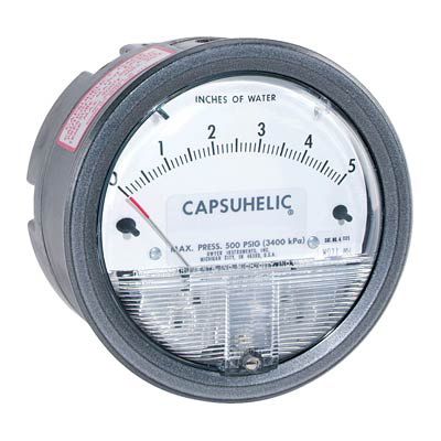 Dwyer 4100 Capsuhelic Differential Pressure Gauge