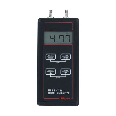 Dwyer 477AV-0 Digital Manometer