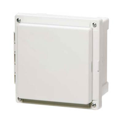 Fibox AR10106CHSC Polycarbonate Electrical Enclosure w/Solid Cover