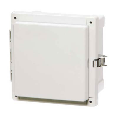 Fibox AR10106CHSSL Polycarbonate Electrical Enclosure w/Solid Cover