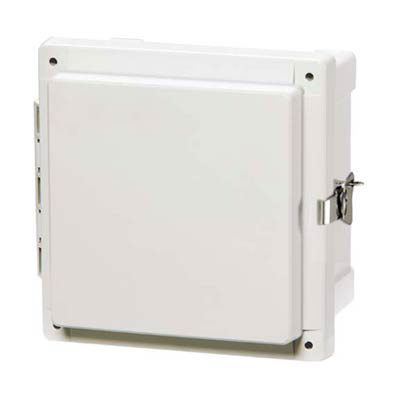 Fibox AR10106CHTSS Polycarbonate Electrical Enclosure w/Solid Cover