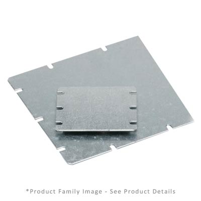Fibox MIV 200 Steel Back Panel
