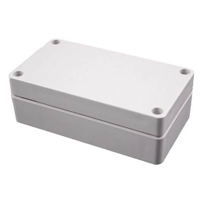Hammond Manufacturing 1554B2GY Polycarbonate Enclosure
