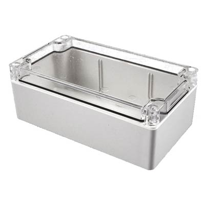 Hammond Manufacturing 1554B2GYCL Polycarbonate Enclosure