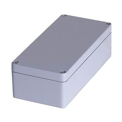Hammond 1590Z140GY Aluminum Enclosure