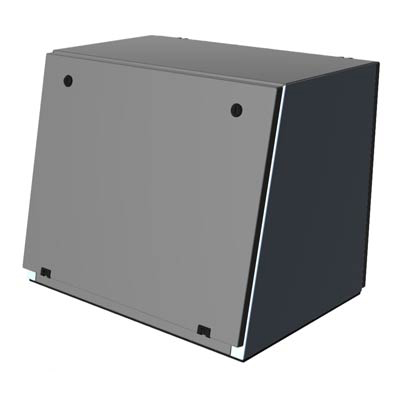 Hammond 2CST206036 304 SS Enclosure
