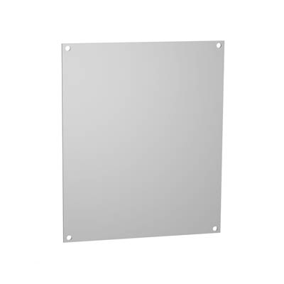 Hammond 14G1109 Galvanized Steel Back Panel