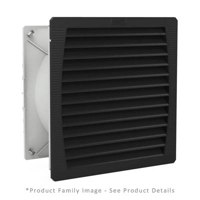 Hammond PF65000T12BK Enclosure Filter Fan