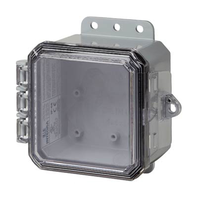 Integra P4043C Polycarbonate Enclosure
