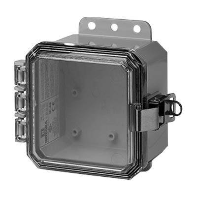 Integra P4043LPCLL Polycarbonate Enclosure