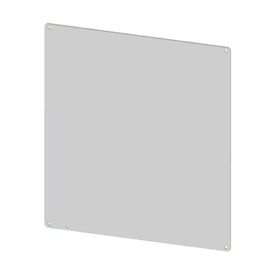 Saginaw SCE-6P6AL Aluminum Back Panel