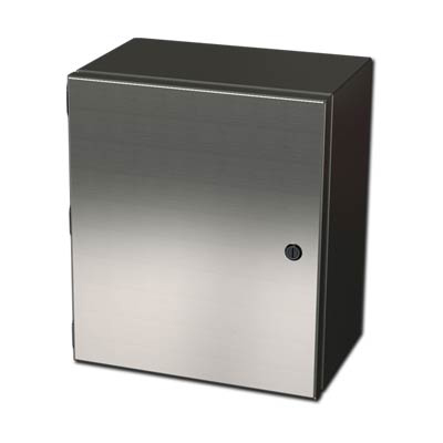 316 Stainless Steel Electrical Wall Mount Enclosure