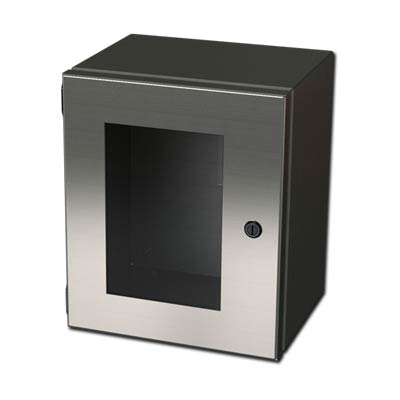 Saginaw SCE-1008ELJWSS6 316 SS Enclosure