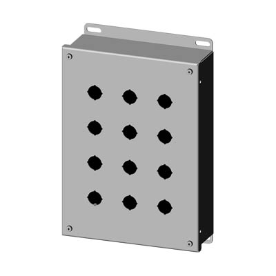 Saginaw SCE-12PBSSI 304 SS Push Button Enclosure