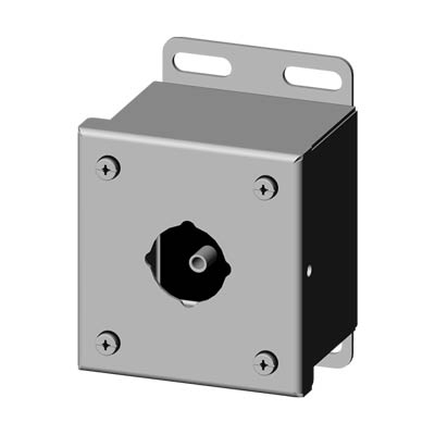 Saginaw SCE-1PBSS6 30.5 mm Metal Push Button Enclosure