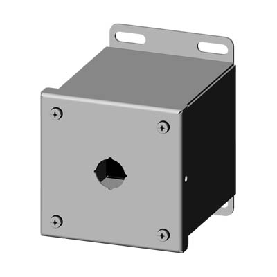 Saginaw SCE-1PBXSSI 304 SS Push Button Enclosure