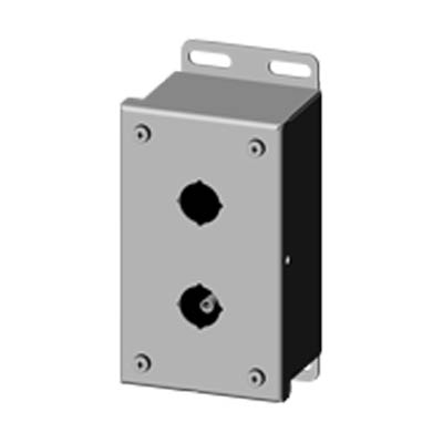 Saginaw SCE-2PBSS6I 316 SS Push Button Enclosure