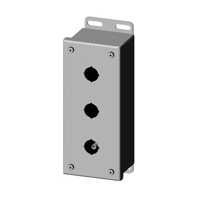 Saginaw SCE-3PBSSI 304 SS Push Button Enclosure