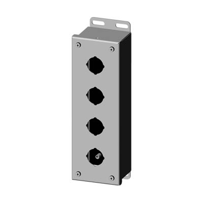 Saginaw SCE-4PBSS 304 SS Push Button Enclosure