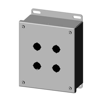 Saginaw SCE-4SPBSSI 304 SS Push Button Enclosure