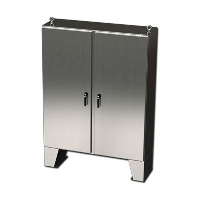 304 Stainless Steel Floor Mount Enclosure