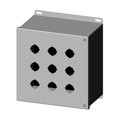 316 Stainless Steel Operator Interface Enclosure