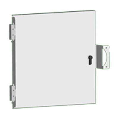 "Saginaw SCE-DF20EL20LP Steel Swing Panel Kit for 20x20"" Enclosures"