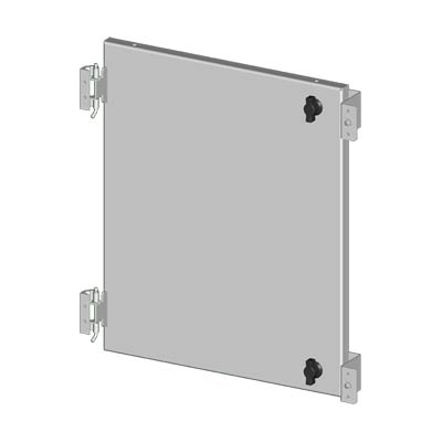 "Saginaw SCE-DF24EL24LP Steel Swing Panel Kit for 24x24"" Enclosures"