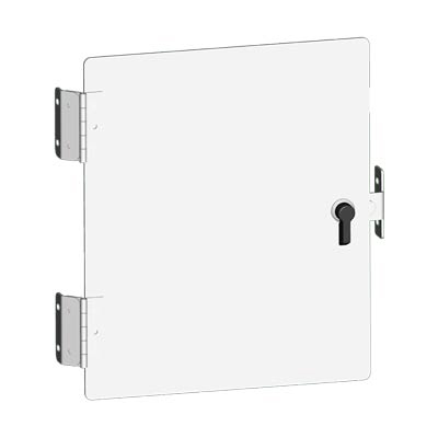 "Saginaw SCE-DFJ1008 Steel Swing Panel Kit for 10x8"" Enclosures"
